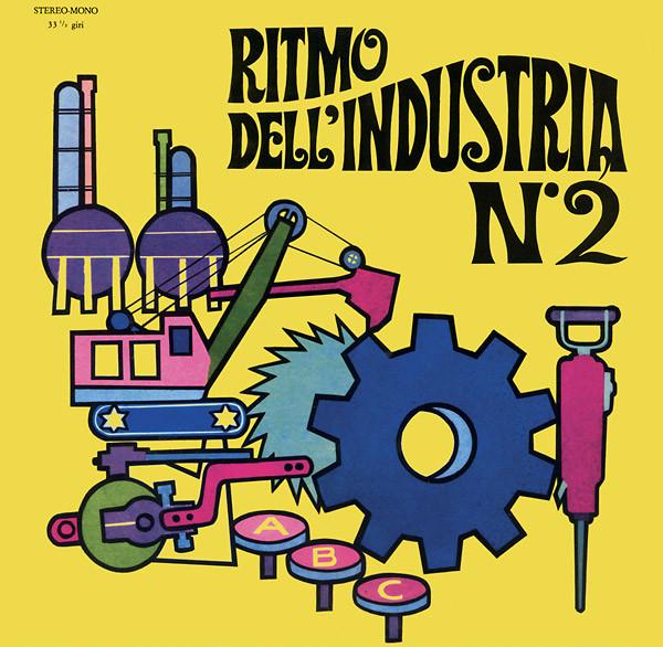 ALESSANDRO ALESSANDRONI: Ritmo Dell'Industria N.2 LP