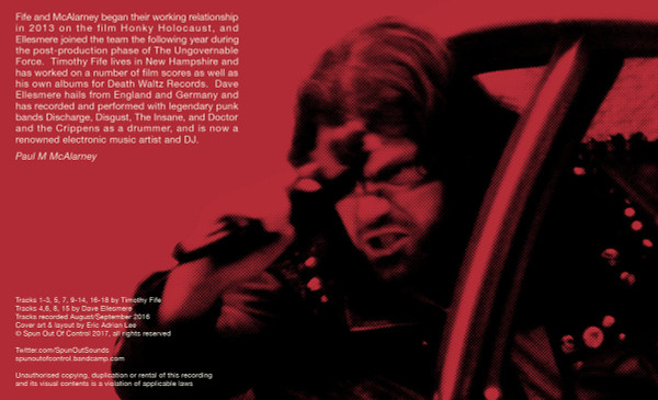 TIMOTHY FIFE & DAVE ELLESMERE: The Streets Run Red (matte black) Cassette