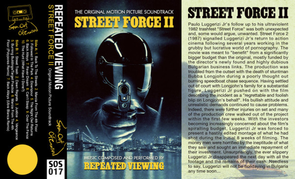 REPEATED VIEWING: Street Force II (Yellow) Cassette