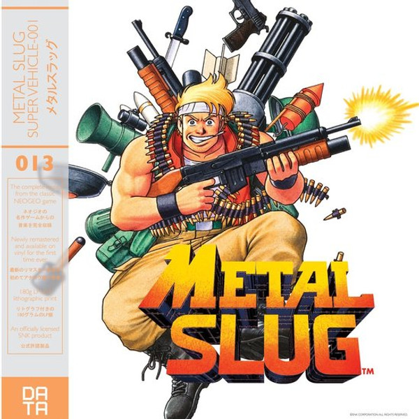 TAKUSHI HIYAMUTA: Metal Slug (Original Video Game Soundtrack) LP