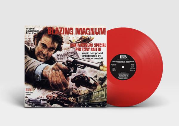 Armando Trovajoli Blazing Magnum: Strange Shadows In An Empty Room (Original Soundtrack) LP