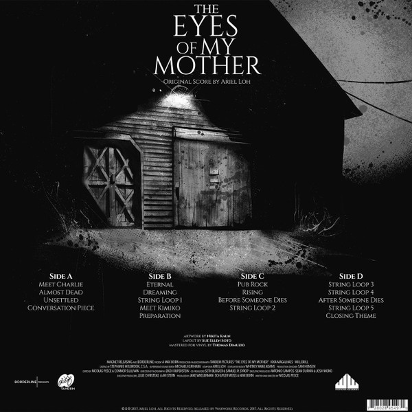 ARIEL LOH: The Eyes Of My Mother 2LP