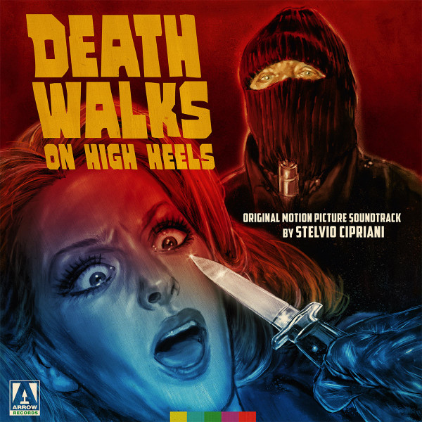 STELVIO CIPRIANI: Death Walks On High Heels (Original Motion Picture Soundtrack) 2LP