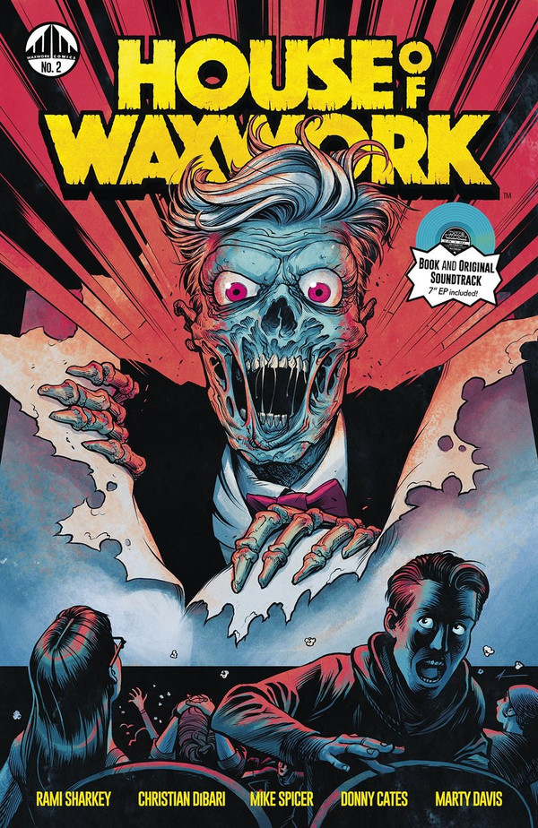 HOUSE OF WAXWORK ISSUE 2 NOWHERE WOLF