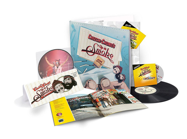 CHEECH & CHONG: Up In Smoke (Deluxe Collection) LP+7''+CD+BluRay