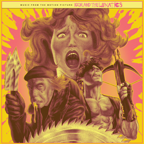 SONIA RUTSTEIN: Igor and the Lunatics (Original Score) (UNOFFICIAL 2018 RSD RELEASE) LP