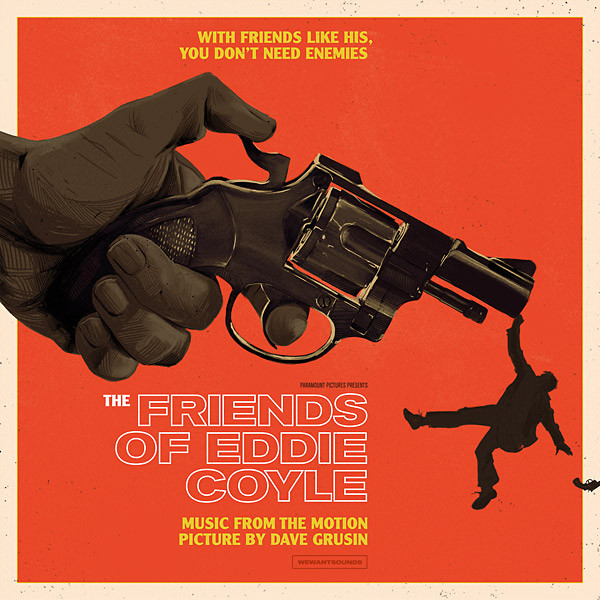 DAVE GRUSIN: The Friends Of Eddie Coyle OST LP