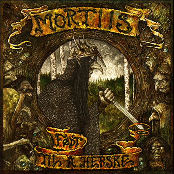 MORTIIS: Født til a herske (Die-cut Remastered) LP