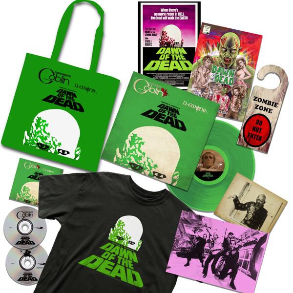 CLAUDIO SIMONETTI'S GOBLIN: Dawn Of The Dead Soundtrack 40th Anniversary: Limited Deluxe