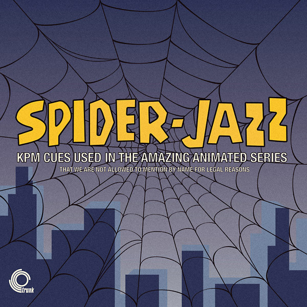 V/A: Spider-Jazz: KPM Cues Used In The Amazing Animated Series LP