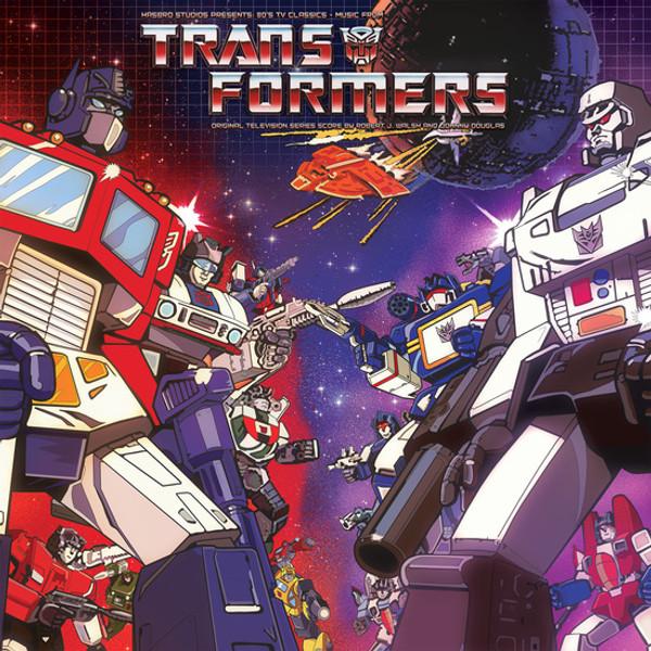 ROBERT J. WALSH AND JOHNNY DOUGLAS: Hasbro Studio Presents '80s TV Classics: Music From The Transformers LP