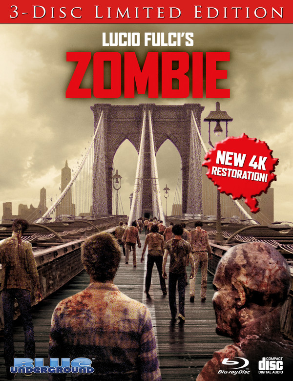 Zombie: Limited Edition (Cover A Bridge) Blu-Ray