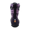 BOGS Amanda Winter Plaid Insulated Kids Gumboots in Magenta