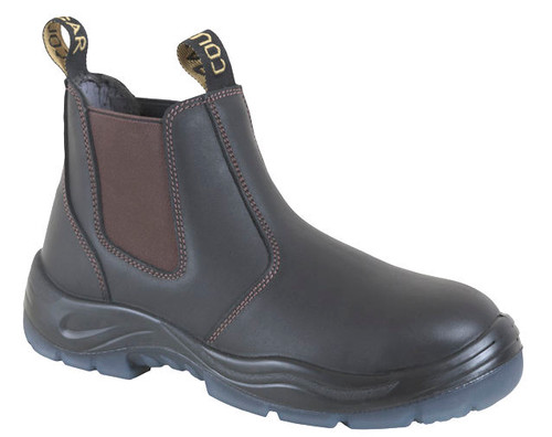 Cougar Jersey Elastic Sided Work Boots Non Safety