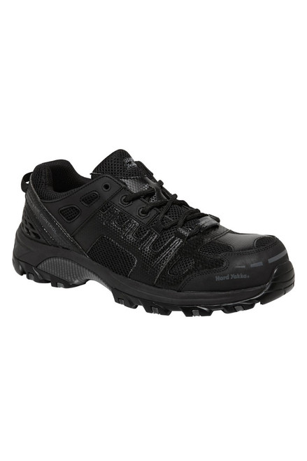 Hard Yakka Avalanche Composite Toe Cap Safety Shoes Black (Y60130)
