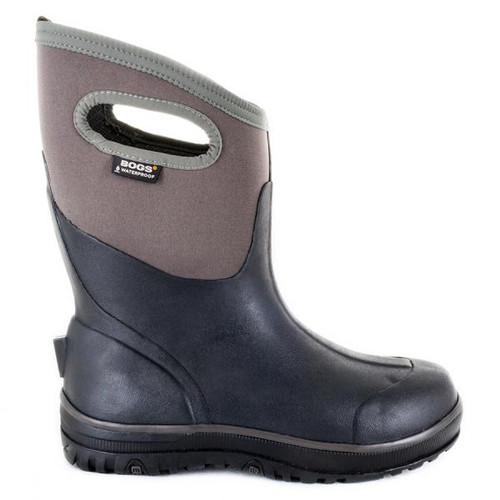 BOGS Ultra Cool Tech Mid Mens Insulated Gumboots in Black (971974-036)