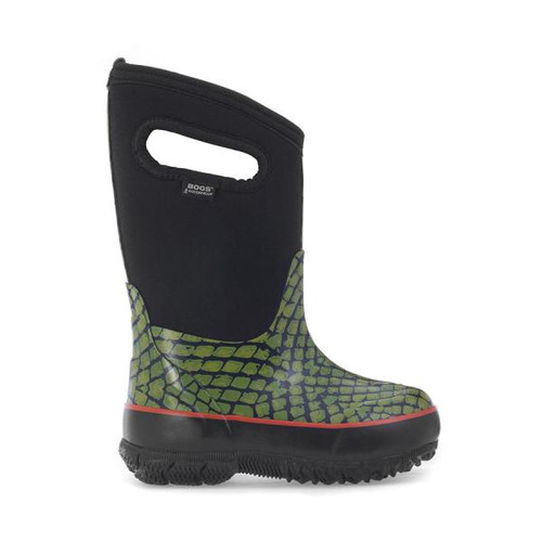 BOGS Kid's Classic Scales Insulated Waterproof Gumboots with Pull Handles (971997-300)