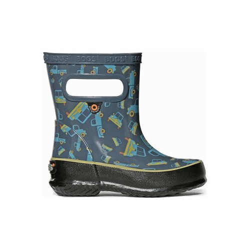 BOGS Skipper Trucks Kids Gumboots in Blue (900048-400)