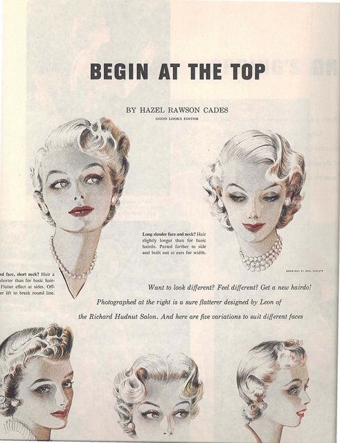 Compliment Your Style with a 50's Hairdo