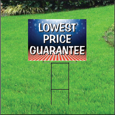 Lowest Price Guarantee Sign Self Storage - Patriotic