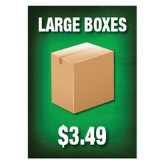 Large Boxes Sign