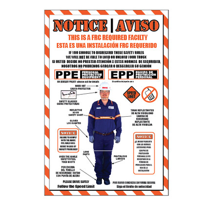 Notice Sign - FRC Required