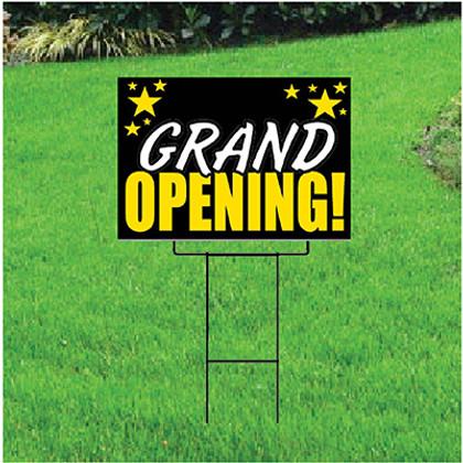 Grand Opening Self Storage Sign - Celebration