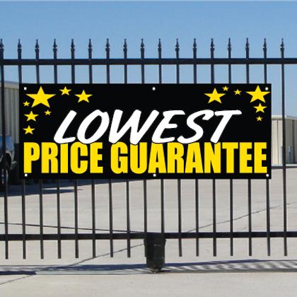 Lowest Price Guarantee Banner - Celebration