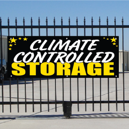 Climate Controlled Self Storage Banner - Celebration