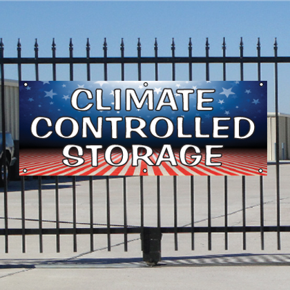 Climate Controlled Storage Banner - Patriotic