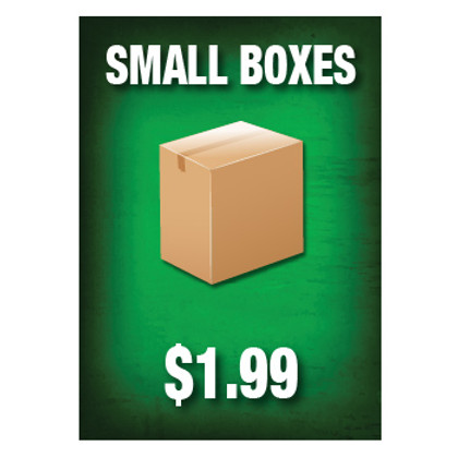 Small Boxes Sign