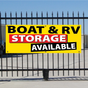 Boat & RV Storage Available Banner - Festive