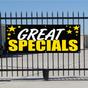 Great Specials Banner - Celebration