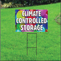 Climate Controlled Self Storage Sign - Balloons