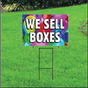 We Sell Boxes Self Storage Sign - Balloons