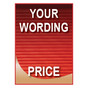 Your wording sign