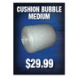 Cushion Bubble Medium Sign