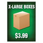 Extra Large Boxes Sign