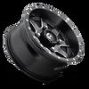 Fuel Off-Road UTV  Wheels | Maverick D538 | 14x7 | 4x156 | Black Milled