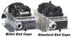 "CBR Dual Fan | Mini Oil Cooler | w. Dual 4"" Fans | AN -10 ORB Oil Cooler Inlet/Out | www.renooffroad.com"