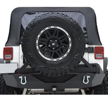 XRC Armor Rear Bumper with Hitch and Tire Carrier