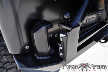 Poison Spyder - RockBrawler Rear Bumper + Tire Carrier