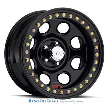 Raceline Steel Beadlock Wheel |  Rock 8 | 17x9.5 | 5x5.5 | RT81
