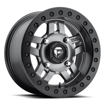 Fuel Off-Road UTV Beadlock Wheels | Anza - D918 | 15x7 | 4on110 | Matte Anthracite | www.renooffroad.com
