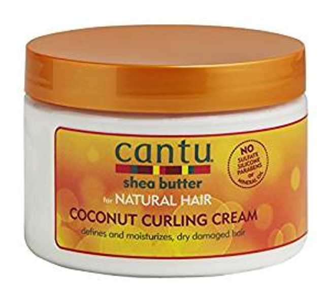 Cantu Shea Butter for Natural Hair Coconut Curling Cream - 12 oz