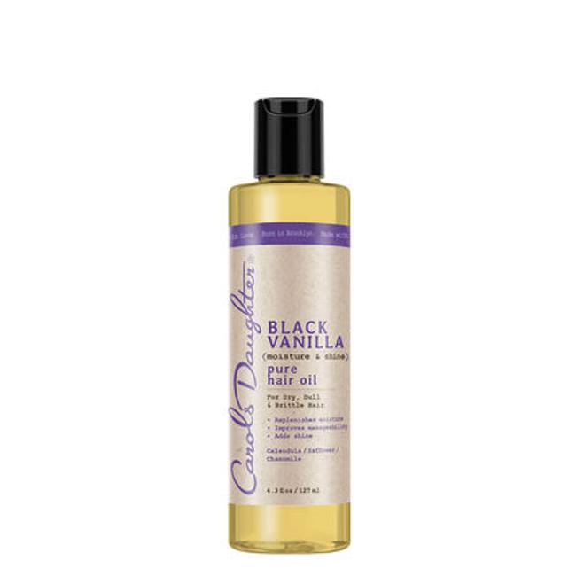 Carol's Daughter Black Vanilla Moisture  & Shine Pure Hair Oil 4.3 oz