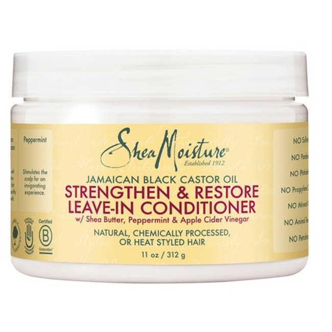 Shea Moisture Jamaican Black Castor Oil Strengthen & Restore Leave-In Conditioner 11oz
