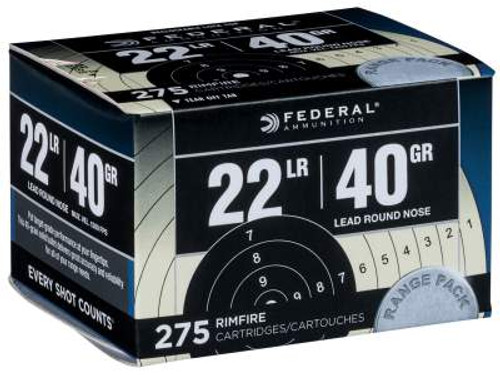 federal 22lr ammo in stock 40 grain 275 rounds free shipping always