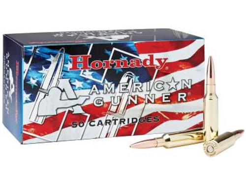 Hornady 6.5 Creedmoor Ammunition American Gunner H81482 140 Grain Boat Tail Hollow Point CASE 500 rounds