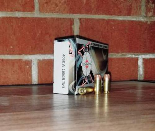 Ten Ring 40 S&W Ammunition 165 Grain Total Metal Jacket Case of 500 rounds